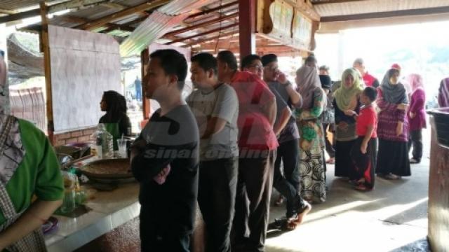 45 ekor udang celup tepung berharga RM10?