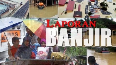 Penduduk bimbang banjir termenung tidak surut
